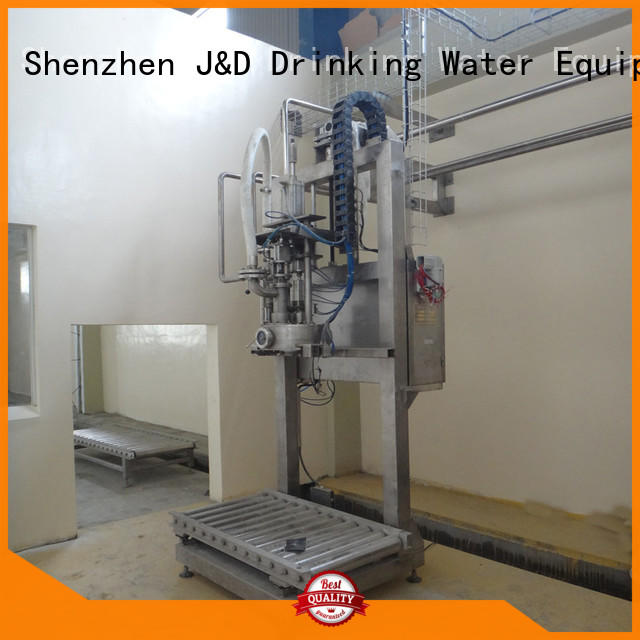 J&D WATER bag filling machine stainless steel for package