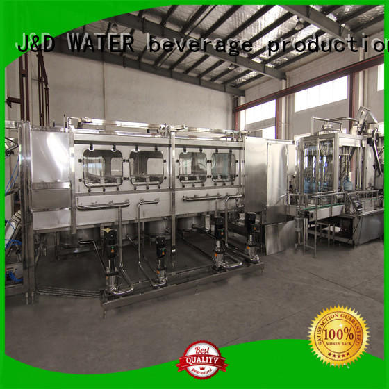 J&D WATER advanced technology aseptic machine factory for tea