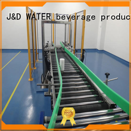 J&D WATER gravity conveyor manufacturer for drinking