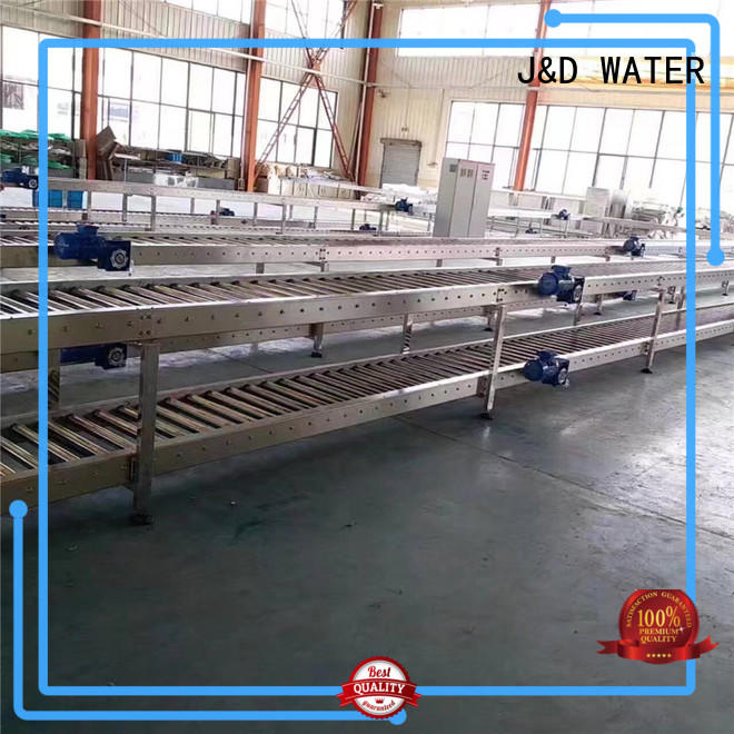 J&D WATER high quality heavy duty conveyor rollers stainless steel for water
