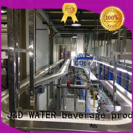 J&D WATER easy operation slat conveyor manufacturer for daily chemical