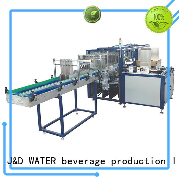 J&D WATER intelligent cartoning machine precise control for food