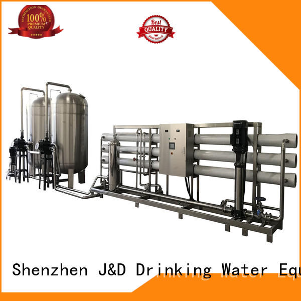 equipemnt reverse osmosis machine auto wash pure water standrad J&D WATER