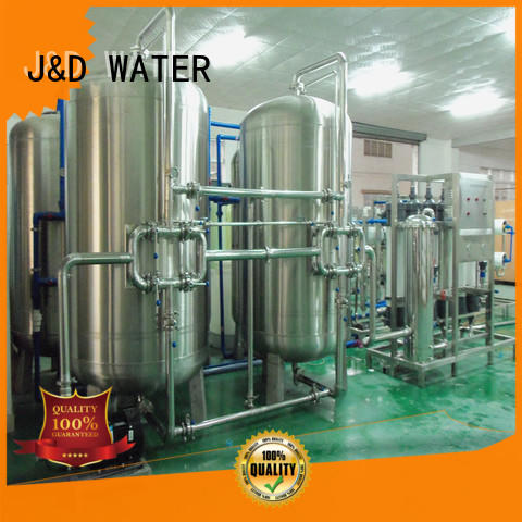 J&D WATER drinking water machine With Stainless Steel for Mineral Water