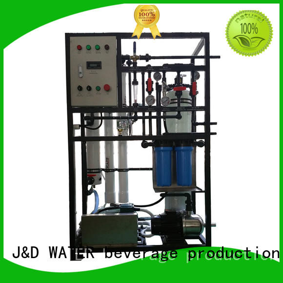 J&D WATER large desalination device effortlessly for troop stations