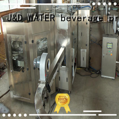 J&D WATER bottle washing filling capping machine complete function for vinegar