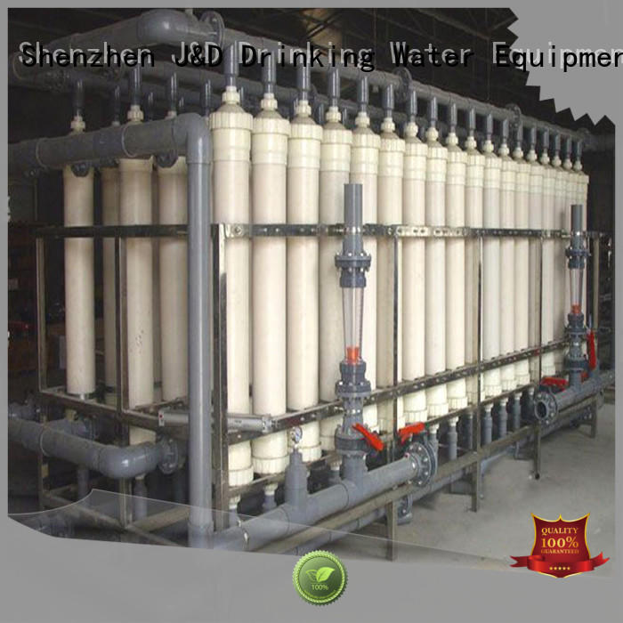 treatment mineral water purification machine purifier chrome plating J&D WATER