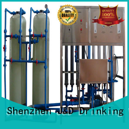 J&D WATER water plant machine filter chrome plating