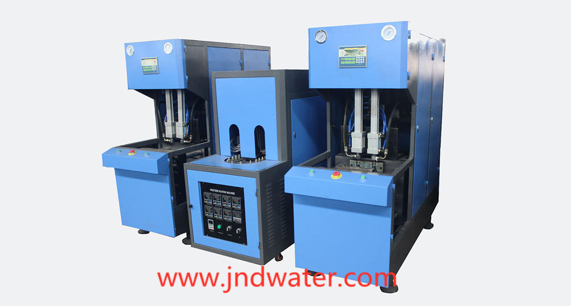 blow molding machine manufacturers safely for cosmetics bottles J&D WATER-1