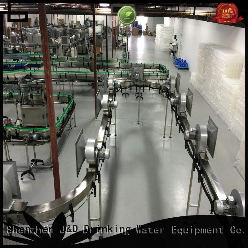 plastic air conveyor manufacturer for beverage, J&D WATER