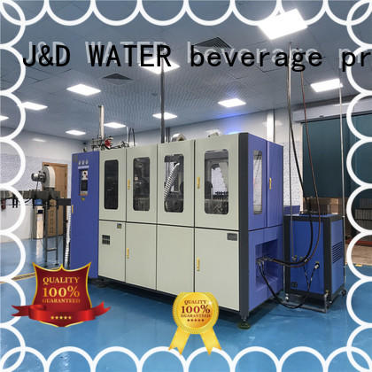 Automatic pet bottle machine stable for oil