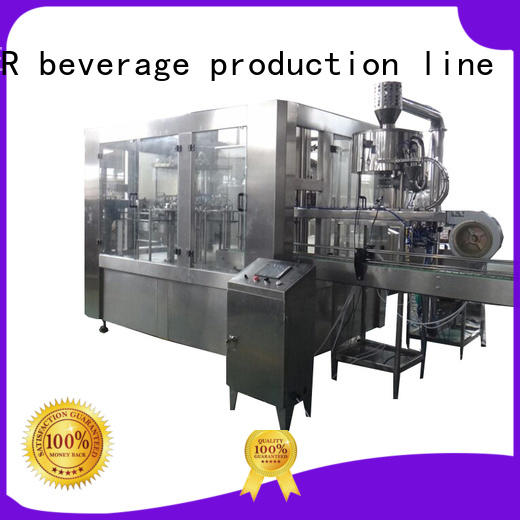 larger capacity mineral water filling machine high automation for Glass bottles