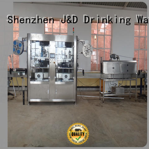 stainless steel wine bottle labeling machine convenient for plastic bottle