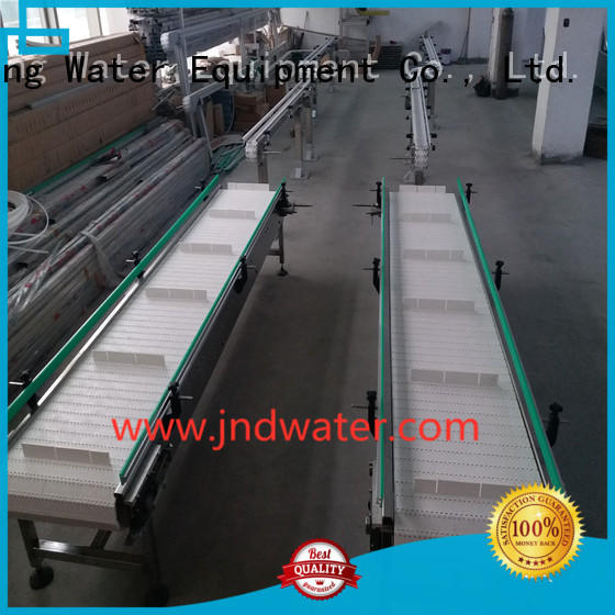 J&D WATER Brand stainless material steel chain conveyor belt