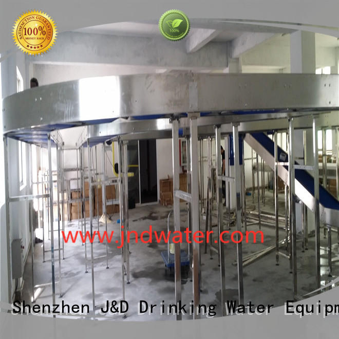 stainless chain conveyor belt J&D WATER company