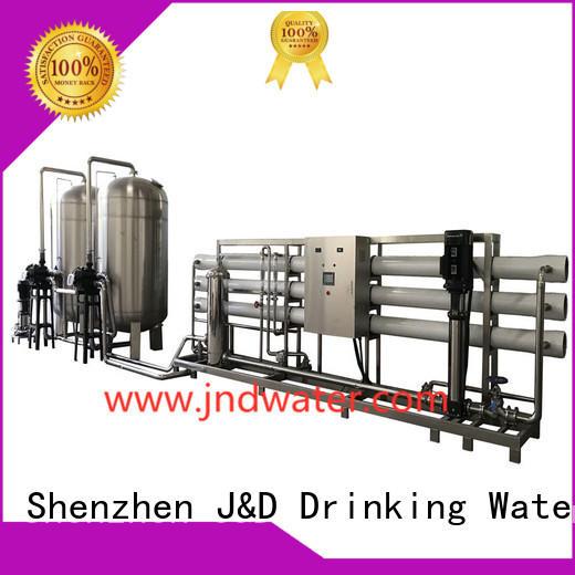 treatment reverse water J&D WATER Brand ro machine supplier