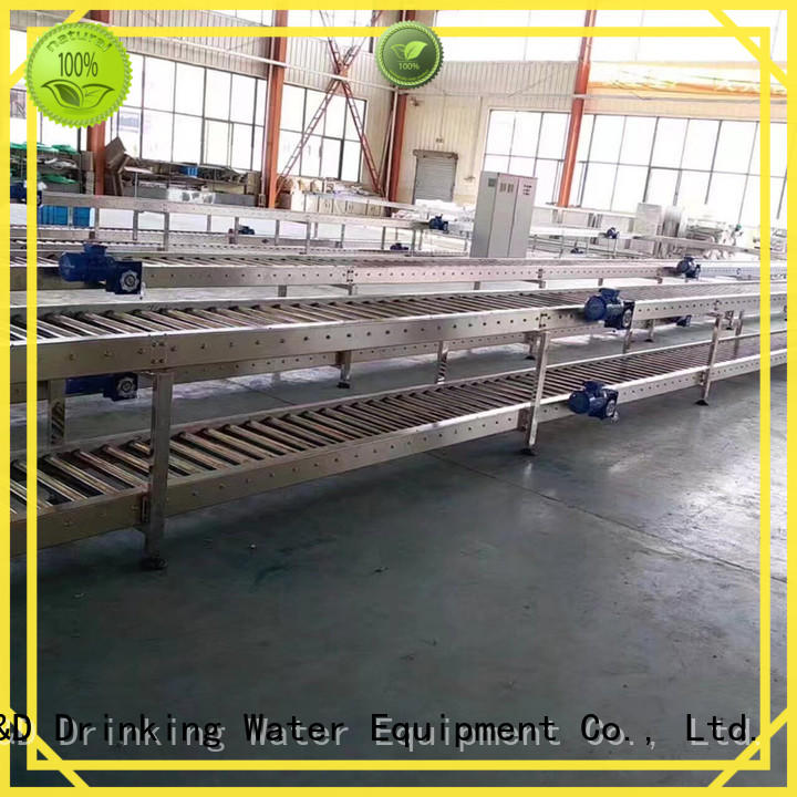 Quality J&D WATER Brand gravity roller conveyor water