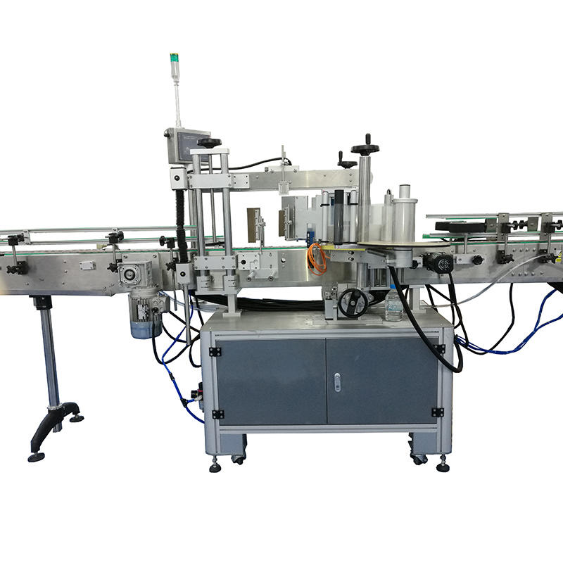 J&D WATER automatic sticker labeling machine reduce cost for metal container-1