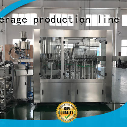 J&D WATER water packing machine high automation for pure water