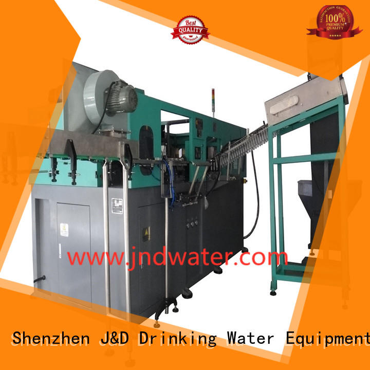 machinejd blowing blow automatic J&D WATER Brand pet blowing machine supplier