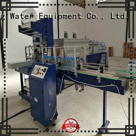 shrink semiauto shrink wrap machines for sale J&D WATER manufacture