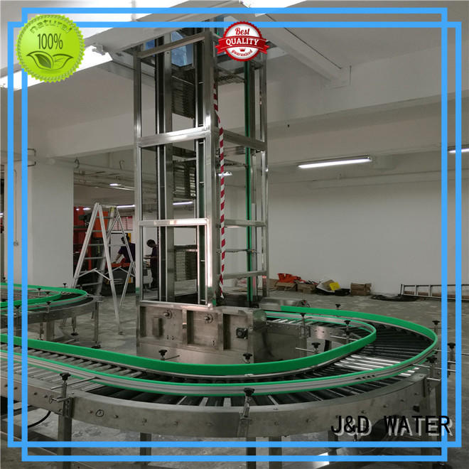 J&D WATER roller conveyor high efficiency for water