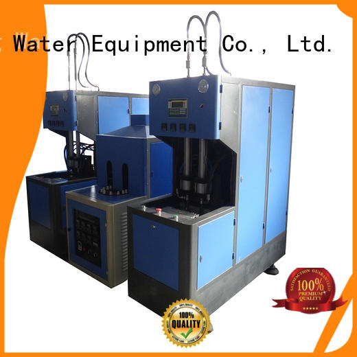 J&D WATER Brand automatic semiauto pet capping blow moulding machine