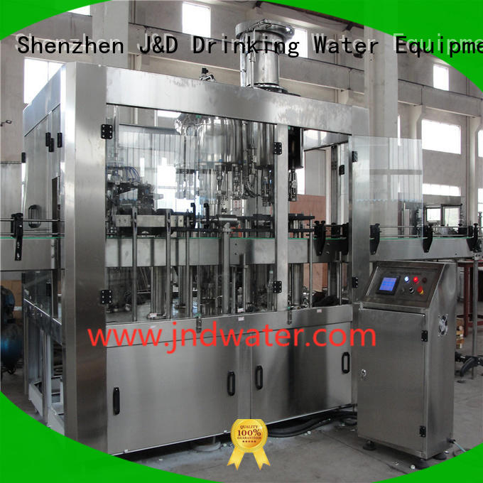 fully carbonated automatic J&D WATER Brand bottle capping machine