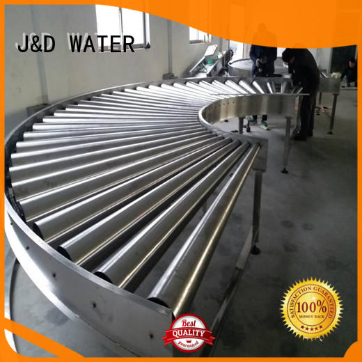 J&D WATER heavy duty conveyor rollers stainless steel for beverage