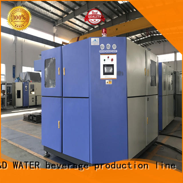 J&D WATER easy operation pet blowing machine for sale for PET plastic