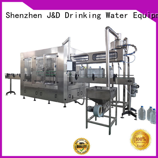 bottle filling equipment machine for soy J&D WATER