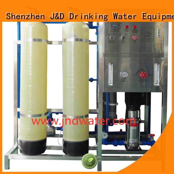 treatment ro water machine water J&D WATER company