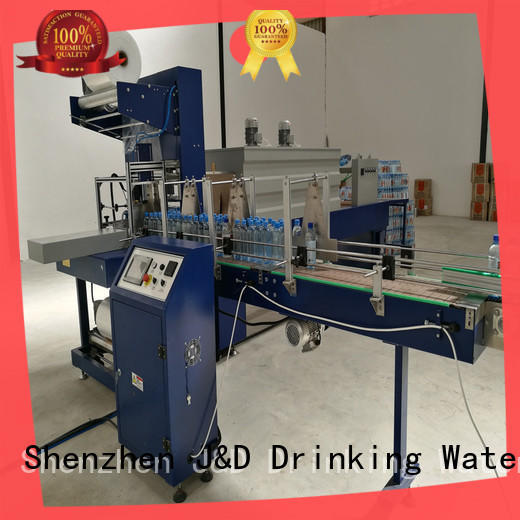 J&D WATER breveager packing machine easy to operate for beverage