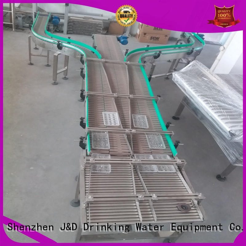 chain stainless J&D WATER Brand chain conveyor belt