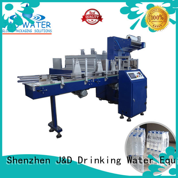 J&D WATER bottle pack machine high quality for medicine