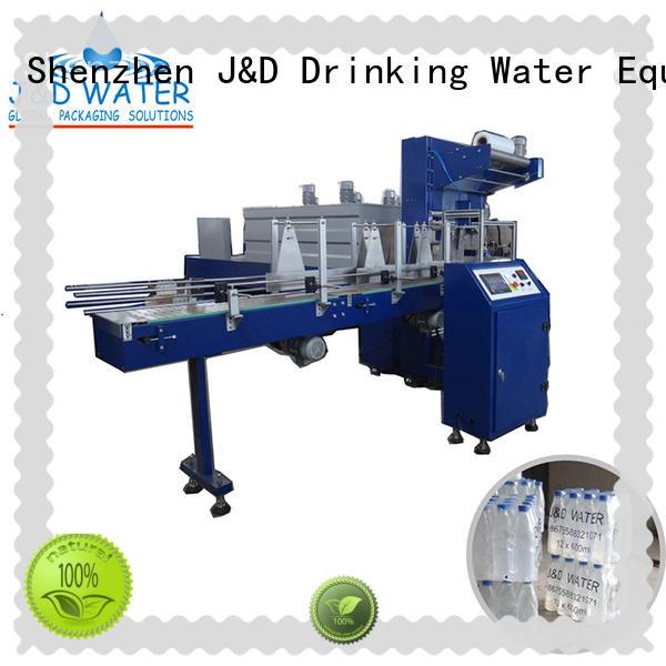 intelligent industrial shrink wrap machine high quality beer