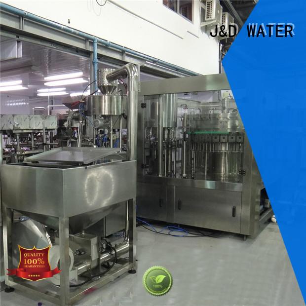 J&D WATER water packing machine convenient for vinegar