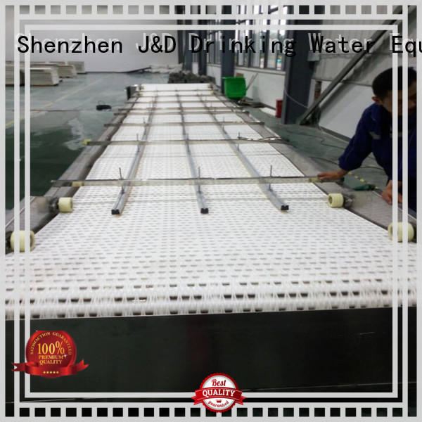 J&D WATER easy operation slat conveyor stainless steel for food