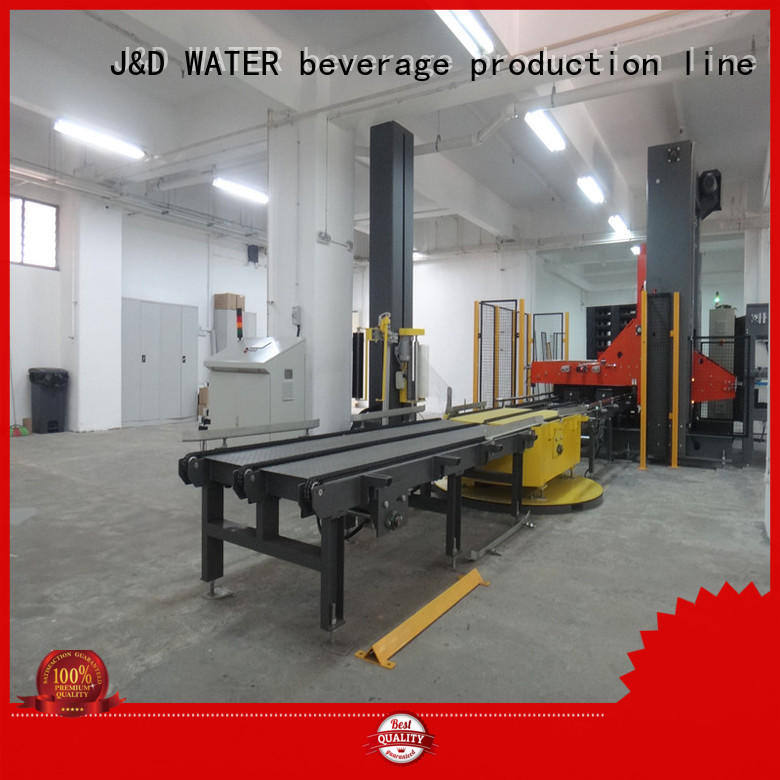 J&D WATER wrapping machine high quality for sugar