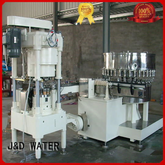 J&D WATER canning machine good quality for container