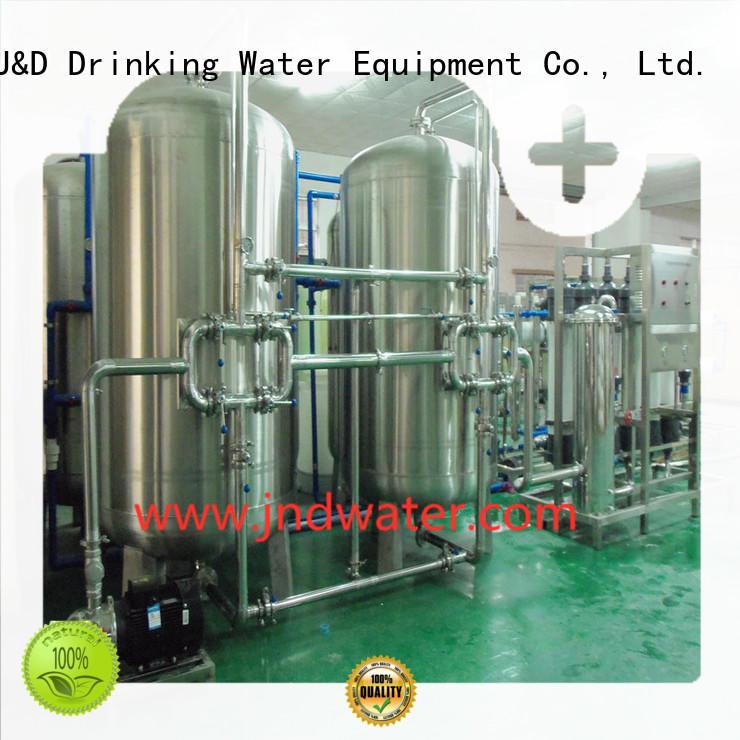 Оптовая продажа воды минеральная вода фильтр машина цена обработки J & D WATER Марка