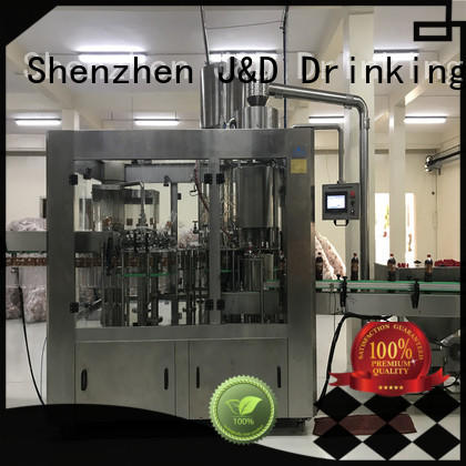sale fully beverage bottle capping machine automatic J&D WATER