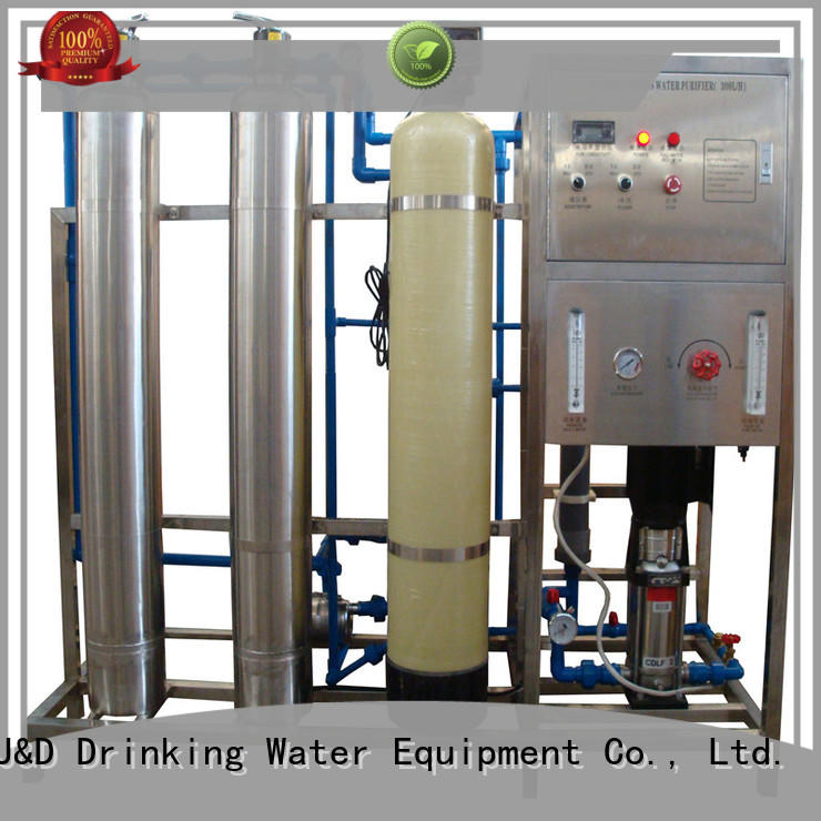 Customized ro filter machine With Steel for water treatment