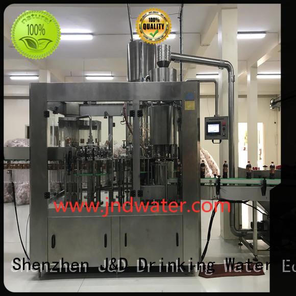 автомат розлива автомат розлива бутылок газированная машина продажа J & D WATER