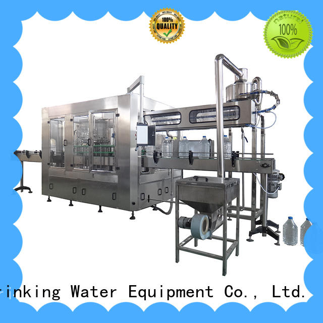 J&D WATER bottle filling equipment convenient for pure water