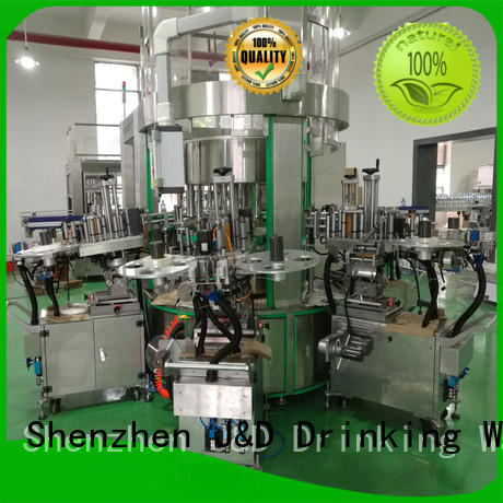 selfadhesive oval bottle labeling machine intellectual control for film lables J&D WATER