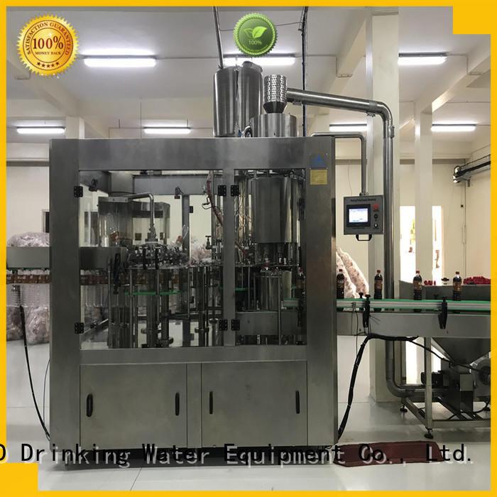 J&D WATER advanced technology pet bottle filling machine convenient for sauce