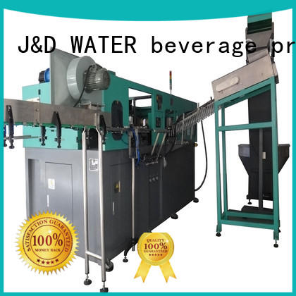 J&D WATER Stretch water bottle making machine for sale for package