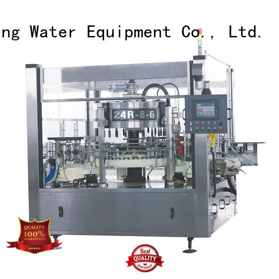 J&D WATER sticker labeling machine manufacturer reduce cost for label papers