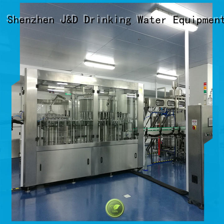 adjusted bottle washing filling capping machine good quality for soy